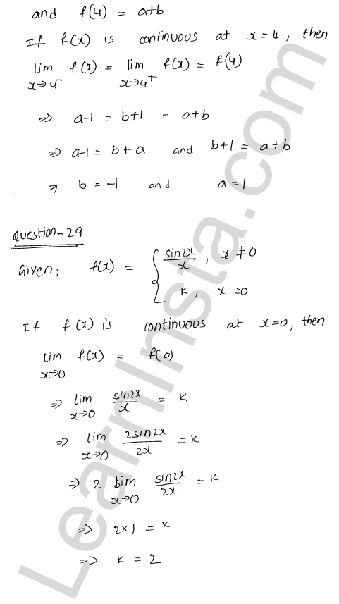 RD Sharma Class 12 Solutions Chapter 9 Continuity Ex 9.1 38