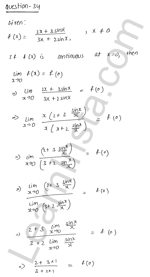 RD Sharma Class 12 Solutions Continuity Chapter 9 Ex 9.1 43