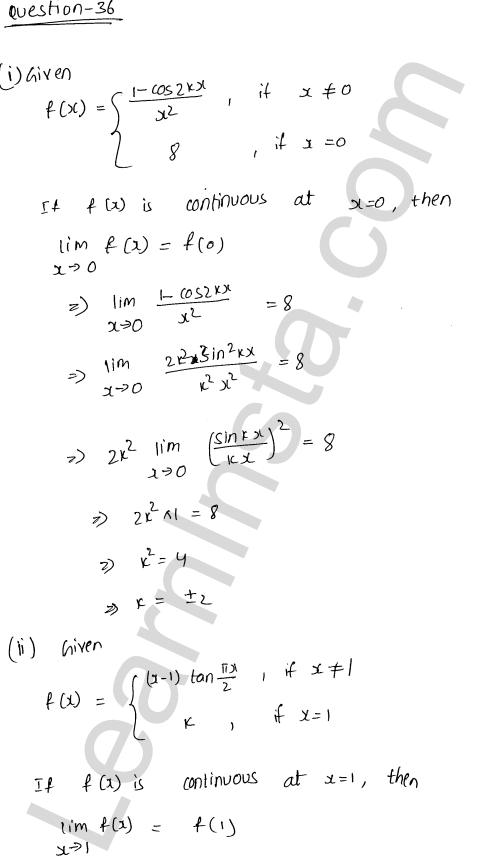 RD Sharma Class 12 Solutions Continuity Chapter 9 Ex 9.1 45