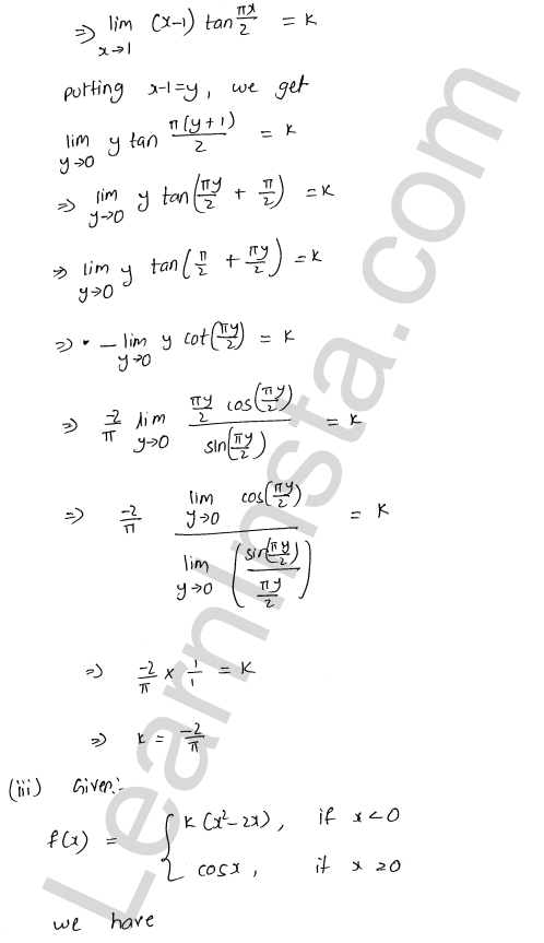 RD Sharma Class 12 Solutions Continuity Chapter 9 Ex 9.1 46