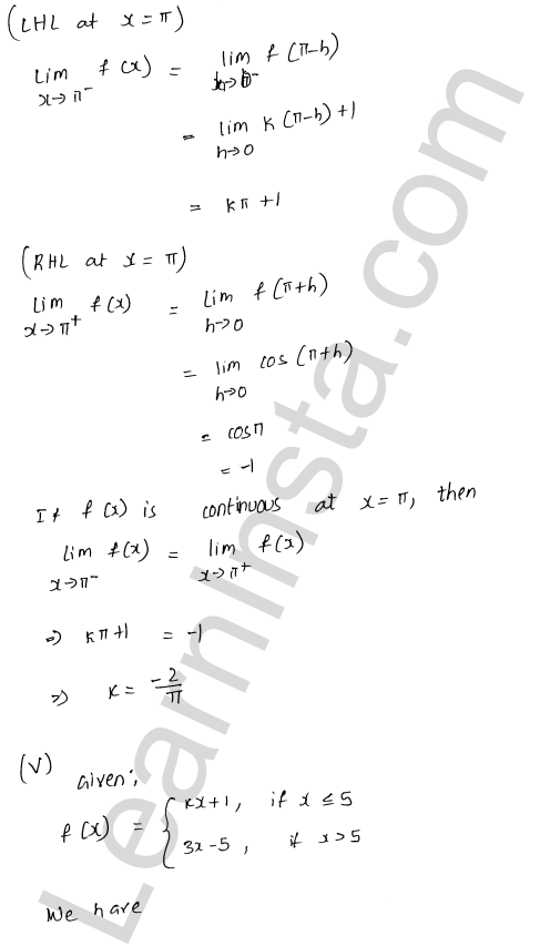 RD Sharma Solutions Class 12 Continuity Chapter 9 Ex 9.1 48