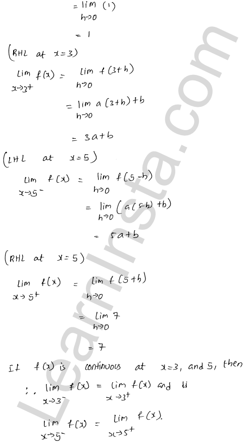 RD Sharma Solutions Class 12 Continuity Chapter 9 Ex 9.1 53