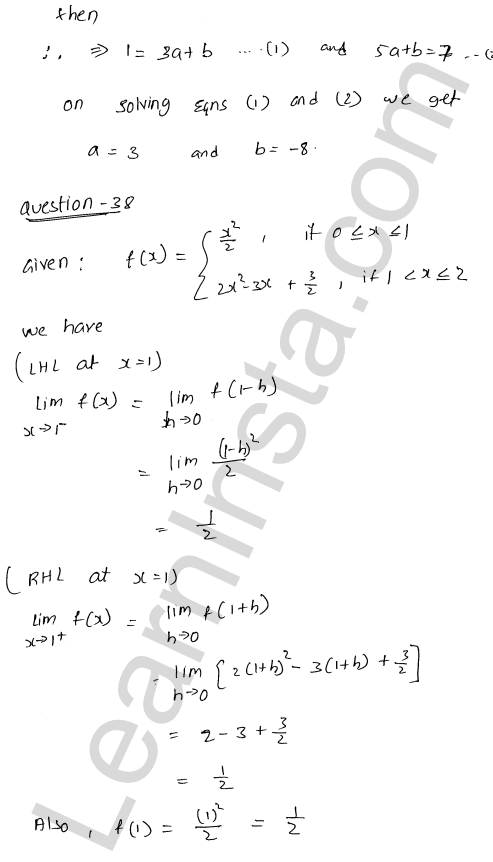 RD Sharma Class 12 Maths Solutions Chapter 9 Continuity Ex 9.1 54