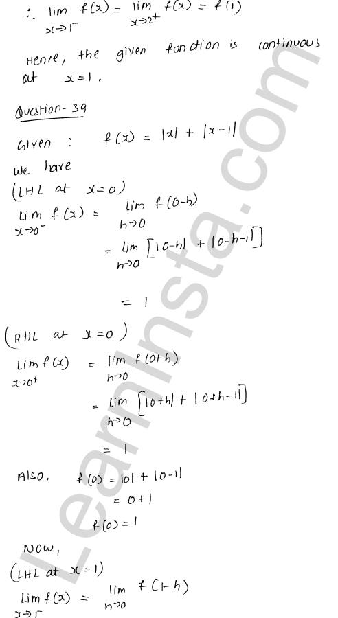 RD Sharma Class 12 Maths Solutions Chapter 9 Continuity Ex 9.1 55