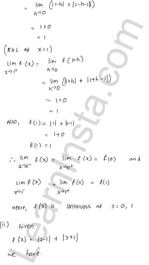 RD Sharma Class 12 Maths Solutions Chapter 9 Continuity Ex 9.1 56