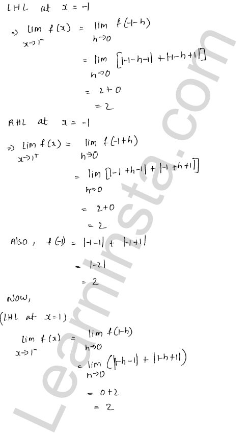 RD Sharma Class 12 Maths Solutions Chapter 9 Continuity Ex 9.1 57