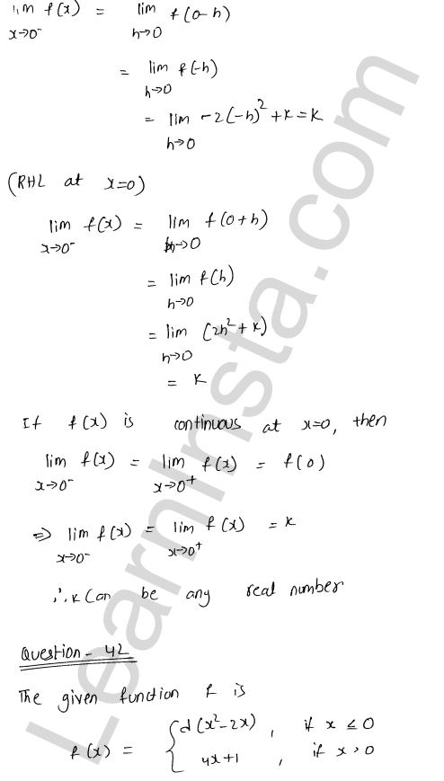 solution of RD Sharma class 12 chapter 9 Continuity Ex 9.1 60