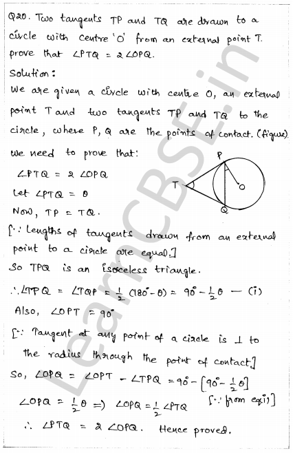 CBSE Sample Papers for Class 10 Maths Paper 1 15