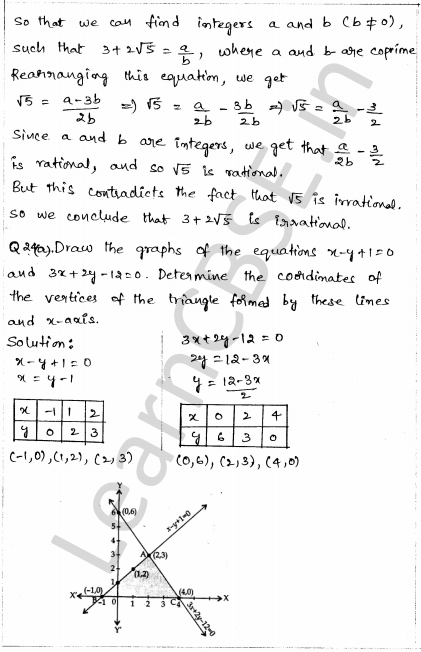 Sample Papers for Class 10 Maths Solved Paper 1 18
