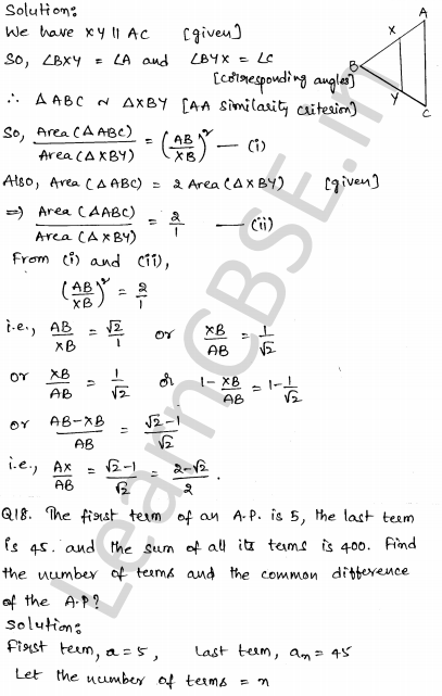 Maths Sample Papers for Class 10 Set 2 13