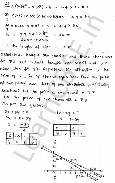 Maths Sample Question Papers for Class 1o Paper 2 17