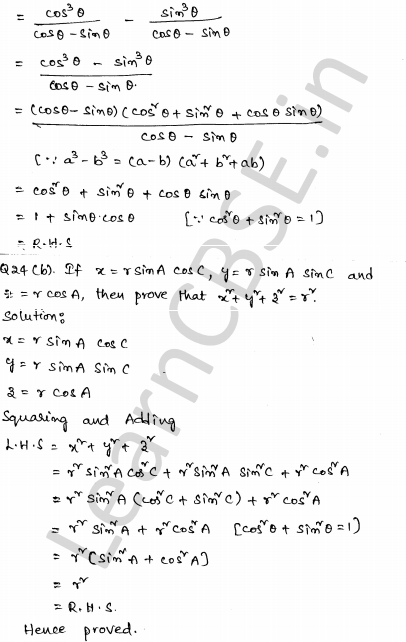 Maths Sample Question Papers for Class 10 Set 2 19