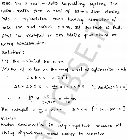 Solved CBSE Sample Papers for Class 10 Maths Set 2 26