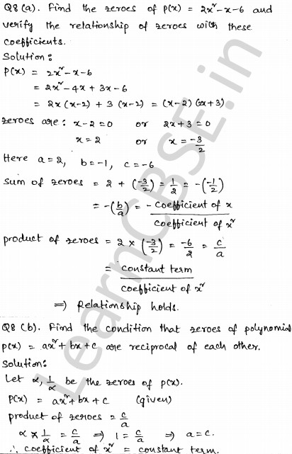 CBSE Sample Papers for Class 10 Maths Solved Set 2 4