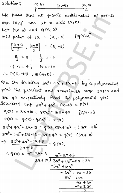 CBSE Sample Papers for Class 10 Maths Set 2 7