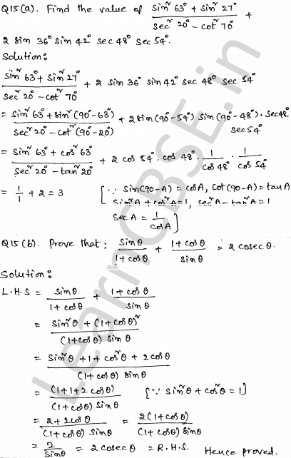 CBSE Sample Papers for Class 10 Maths Set 2 9
