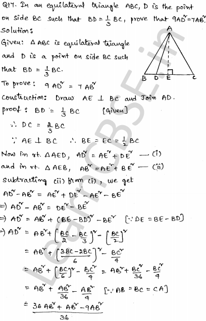 Sample Papers for Class 10 Maths Solved paper 3 13