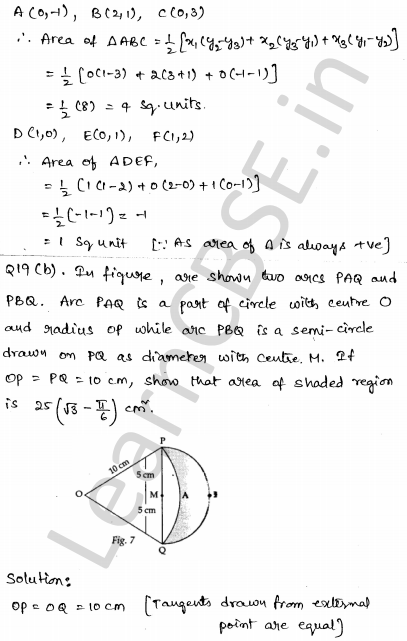 Sample Papers for Class 10 Maths Solved paper 3 17