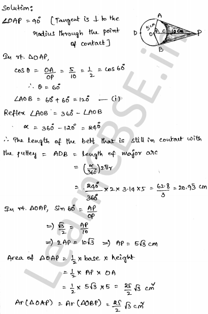 CBSE Sample Papers for Class 10 Maths Solved paper 3 31