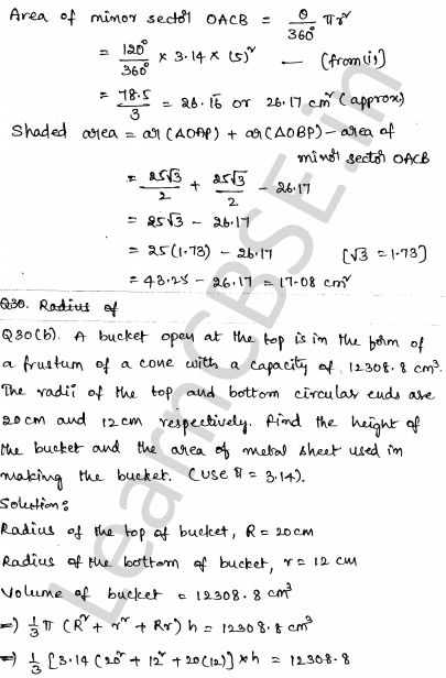 CBSE Sample Papers for Class 10 Maths Set 3 32
