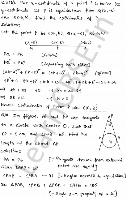CBSE Sample Papers for Class 10 Maths Set 3 7