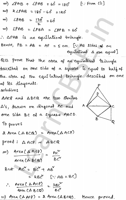 CBSE Sample Papers for Class 10 Maths Set 3 8