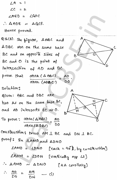 Sample Papers for Class 10 Maths Solved paper 4 11