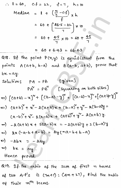 Maths Sample Papers for Class 10 Set 4 13