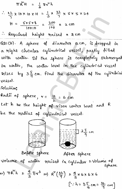 Maths Sample Question Papers for Class 1o Paper 4 16