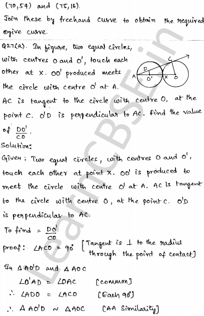Maths Sample Question Papers for Class 10 Paper 4 23