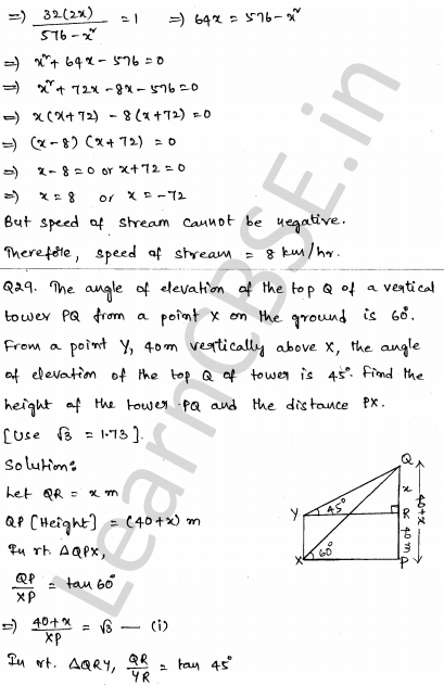 CBSE Sample Papers for Class 10 Maths Set 4 27