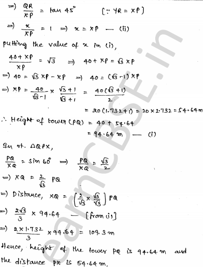 Maths Sample Papers for Class 10 Set 4 28
