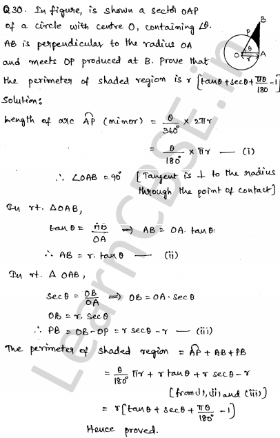 Sample Papers for Class 10 Maths Solved paper 4 29