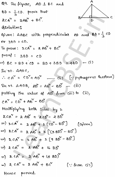 CBSE Sample Papers for Class 10 Maths Solved paper 4 4
