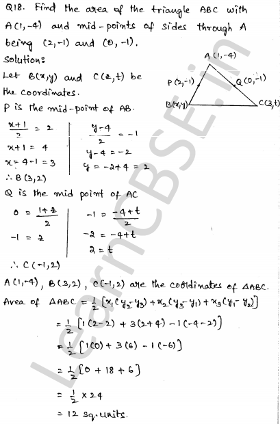 Sample Papers for Class 10 Maths Solved paper 5 12