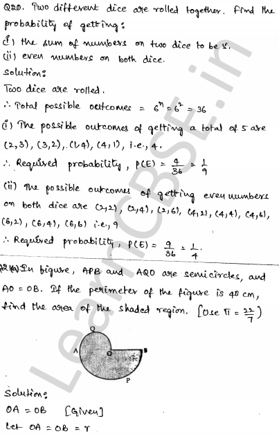 Maths Sample Papers for Class 10 Set 5 14