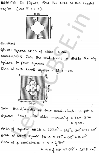 Maths Sample Question Papers for Class 1o Paper 5 16