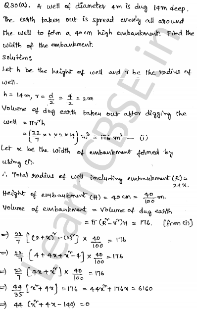 Maths Sample Papers for Class 10 Set 5 29