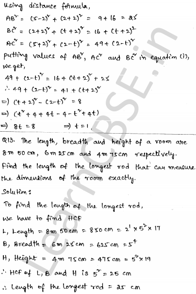 CBSE Sample Papers for Class 10 Maths Set 5 7