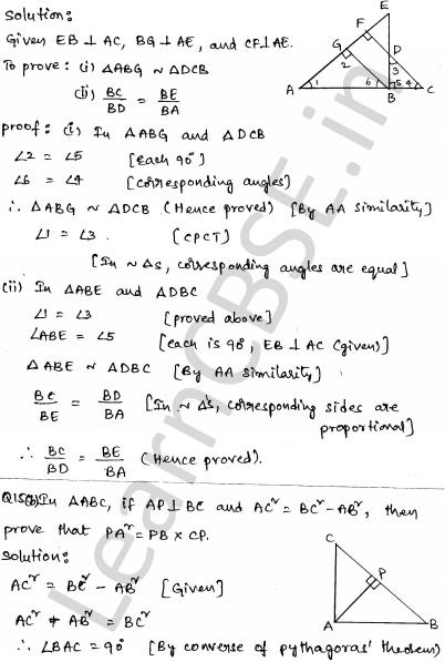 CBSE Sample Papers for Class 10 Maths Set 5 9
