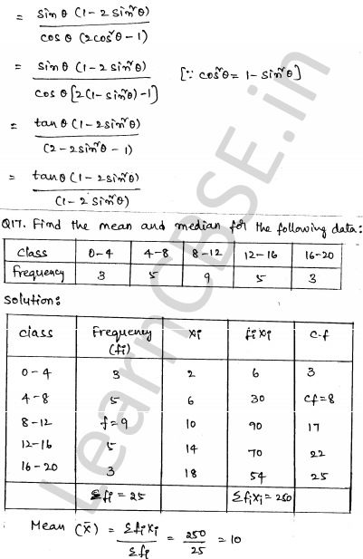 Maths Sample Papers for Class 10 Set 6 13