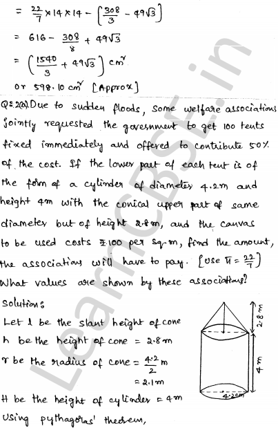 Maths Sample Question Papers for Class 1o Paper 6 18