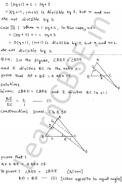 Maths Sample Question Papers for Class 10 Set 6 21