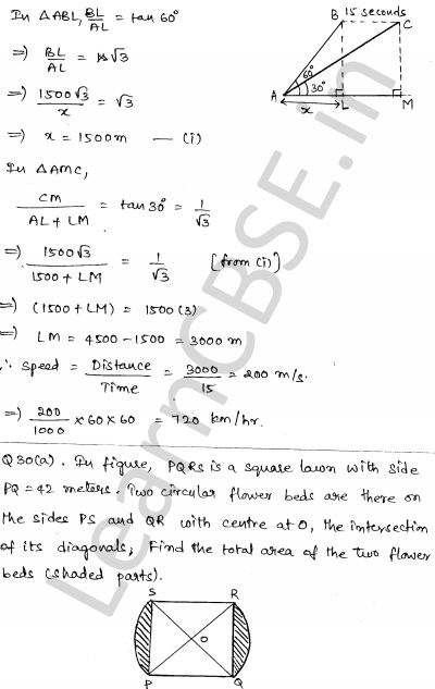 Sample Papers for Class 10 Maths Solved paper 6 28