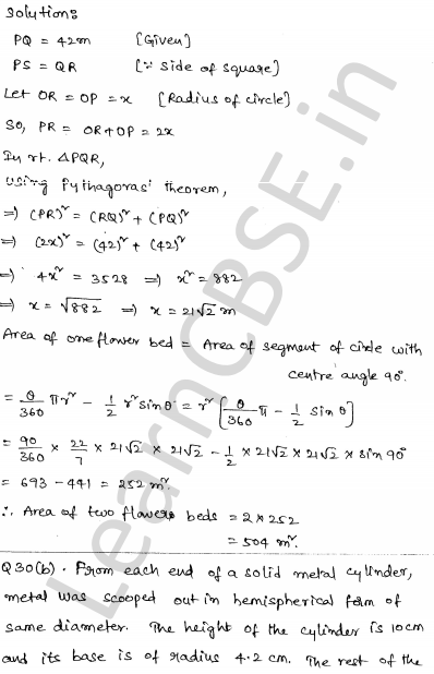 Maths Sample Papers for Class 10 Set 6 29