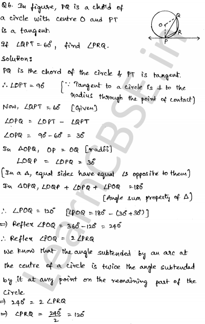 Solved CBSE Sample Papers for Class 10 Maths Paper 6 3