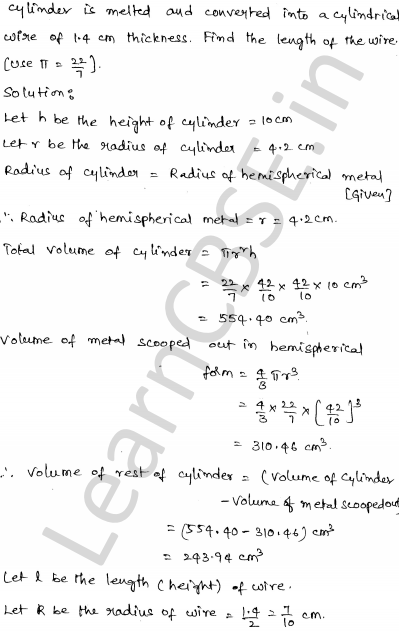 Maths Sample Question Papers for Class 1o Paper 6 30