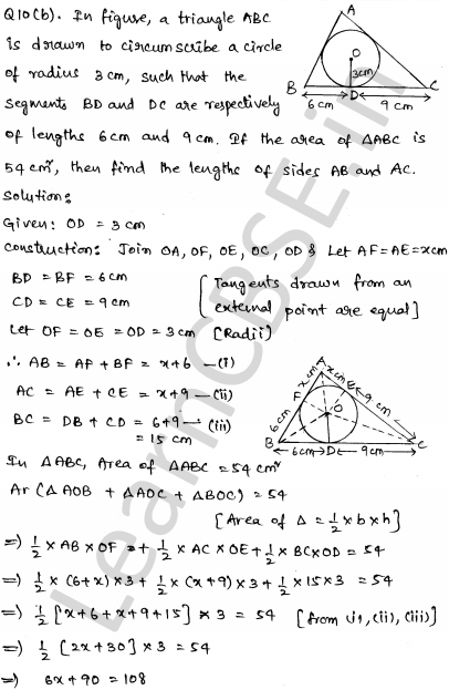 CBSE Sample Papers for Class 10 Maths Set 6 7