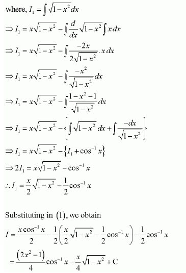 Class 12 Maths NCERT Solution Ex 7.6 Q 9 - i