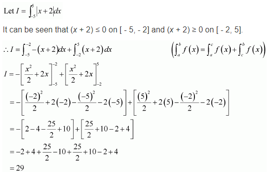 Ex 7.11 Integration Class 12 Maths NCERT Solutions Sol 10
